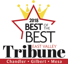dentist Chandler, AZ Best of the Best Dentist - Chandler, Gilbert, Mesa - Award