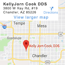 Kelly Jorn Cook, DDS - Map - 19 W Ray Rd, Ste 19, Chandler, AZ 85226